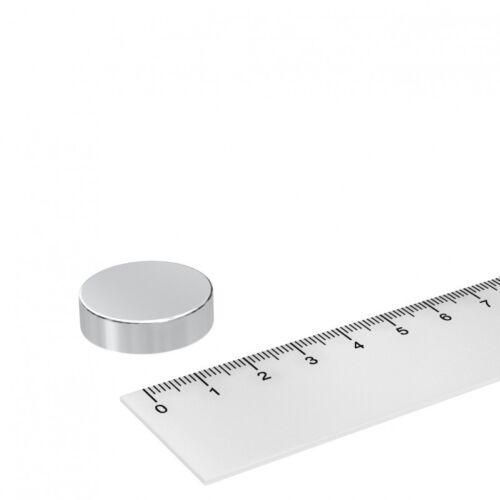 25x7 mm WERKSTATT INDUSTRIE 20x POWER NEODYM MAGNET SCHEIBE SUPERMAGNET N42