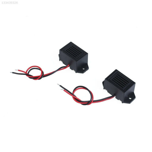 1377 Mini 70DB Low Voltage Mechanical Vibration Buzzer DC 3V with Cable Lead