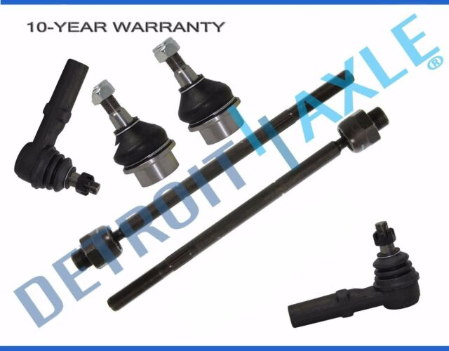 4pc Inner Tie Rod End Rack /& Pinion Boots Dodge RAM 1500 2WD 2002-2005