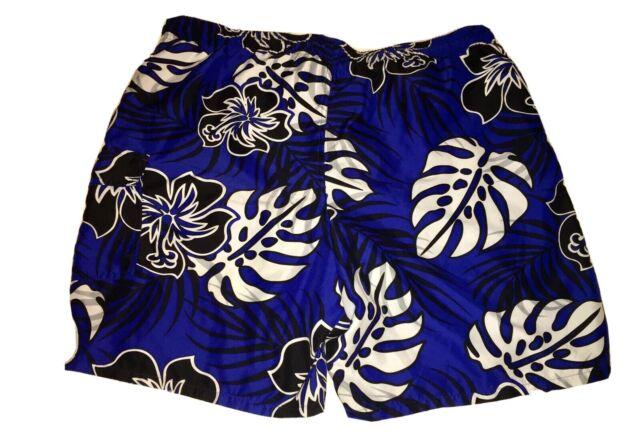 Volcom Little Boys 5//M Board Swim Trunks Shorts Blue Hot Wheels Mesh Lined