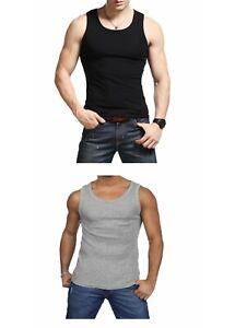 1 Débardeurs homme 100% coton, Marcel homme, maillot de corps