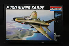 YG006 MONOGRAM 1/48 maquette avion 74010 F-100 Super Sabre rare boitage