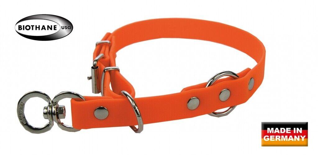 Akah Biothane Stemming Signal Red 35cm Collar Dog Collar Dog