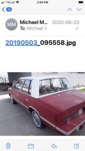 1981 Reliant K Car