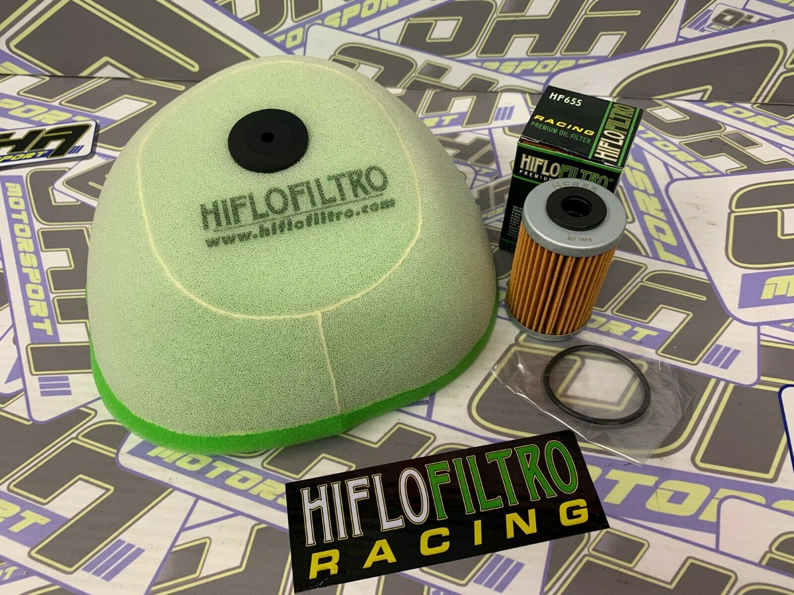 HIFLO AIR FILTER FITS KTM 450 SMR 2011-2012