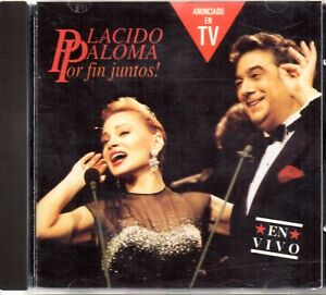 Placido Domingo Paloma San Basilio Por Fin Juntos En Vivo Cd 1991 Ebay
