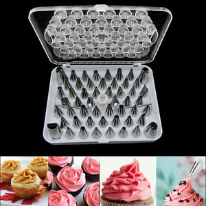 piping pastry fondant cake decorating sugarcraft nozzle tip tool set