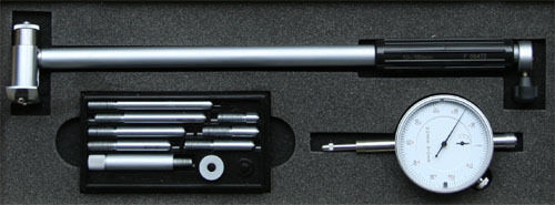 2-Punkt-Innenmessgerät 50-160 mm Innen-Feinmessgerät mit Messuhr