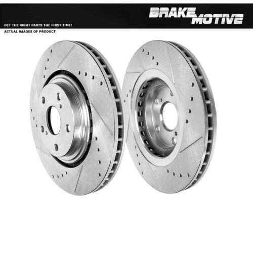Front 328 mm Brake Rotors For Lexus RX350 RX450H Toyota Sienna Highlander