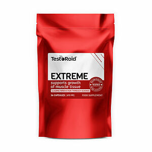 EXTREME TESTOSTERONE BOOSTER STRONGEST LEGAL IN AUSTRALIA 5060465210005 eBay