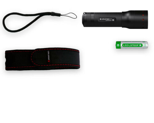 LED LENSER P7 450 Lumen Modell 2019 Taschenlampe mit AAA Batterien /& Tasche