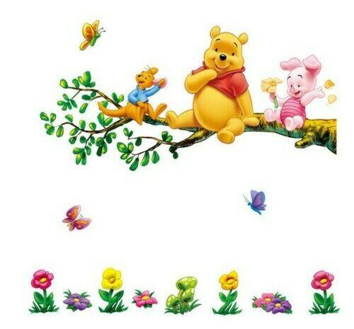 Winnie the Pooh Wall Stickers Decal Nursery//Kids Room
