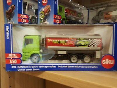 Fahrzeuge MAN LKW mit Ersterer Tankwagenaufbau