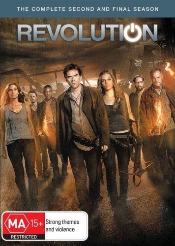 1 of 1 - Revolution : Season 2 (DVD, 2014, 6-Disc Set)  Brand new, Genuine  D73/D164