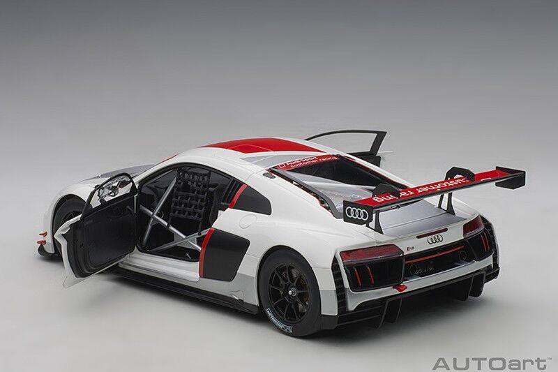 Autoart Audi R8 Lms Geneva Presentation Coche 2016 1 18 Escala Nueva Versión