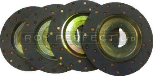 Set of four Zetor / Ursus Tractor Brake Discs