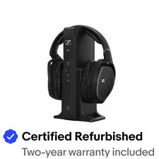 Sennheiser RS 175 Bass Boost Surround Sound Wireless Headphones Certified Refurb
