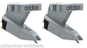 2-ORTOFON-OMEGA-TURNTABLE-CARTRIDGES-Twin-DJ-Set-Hi-Fi-PHONO-Authorized-Dealer