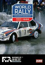 World Rally Championship - Monte Carlo 1986 Review (New DVD) WRC Toivonen Rohrl
