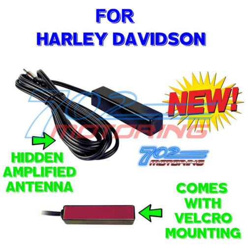 METRA STYLE 44-UA20 REPLACEMENT AMPLIFIED HIDE-AWAY ANTENNA FOR HARLEY DAVIDSON