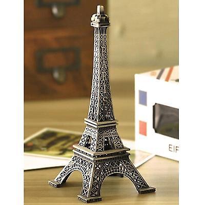 Statue Figurine Paris Eiffel Tower Model Home Christmas Gift Decoration Retro