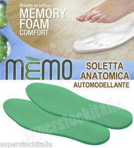 calzature memory foam