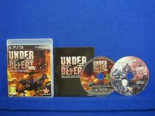 ps3 UNDER DEFEAT HD Deluxe Edition SHMUP + Soundtrack CD PAL REGION FREE ENGLISH