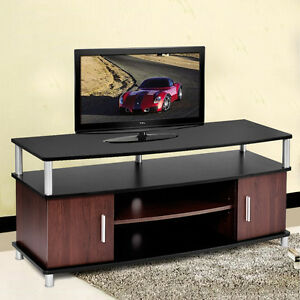 TV-Stand-Entertainment-Media-Center-Console-Storage-Wood-Cabinet-Home-Furniture
