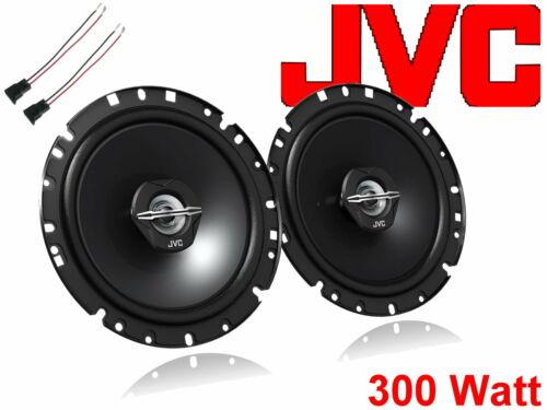 JVC altavoces instalación del sistema set puerta delantera peugeot 206 cc 1998-2012 300 vatios