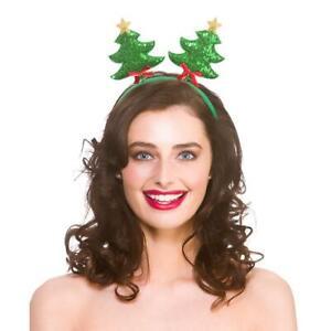 NEW-Sequin-Christmas-Tree-Boppers-Xmas-Santa-Fancy-Dress-christmas-Accessory