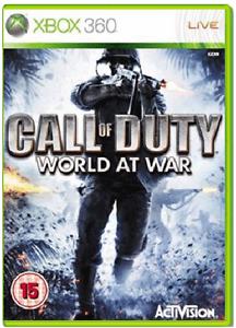 XBOX-360-CALL-OF-DUTY-WORLD-AT-WAR-COD-Nuovo-e-Sigillato-Xbox-One-compatibile