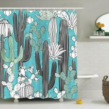 Home Expressions Durable Waterproof Peva Shower Curtain 70x72 Cactus Design