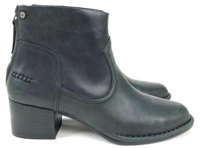 9875b0dc0b1 UGG Australia Black Bandara Ankle Boot Size 9 1098310 UK 7 EU 40