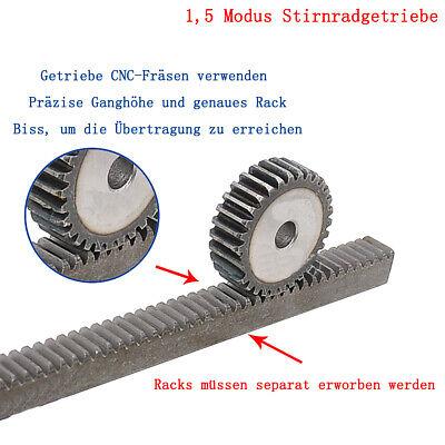 Bohrung Ø8 Modul 1.25 42 Zähne Zahnrad Stirnrad KS aus Kunststoff Polyacetal