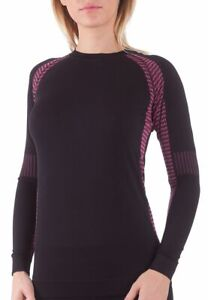 Bellissima-Women-039-s-Athletic-Compression-Long-Sleeve-Shirt-Moisture-Wicking-Top