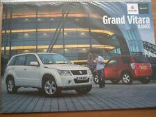 Suzuki Grand Vitara range brochure Sep 2011