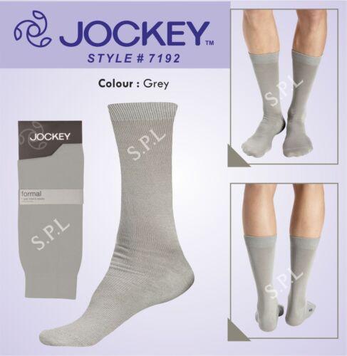 Jockey Elance Formali Calzini 7192-un paio-Al Polpaccio-Cotone 4 Colori-Comodi Fit