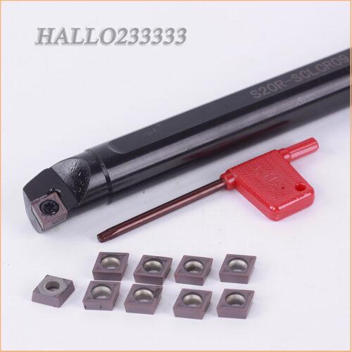 S20R-SCLCR09 External Boring Bar Tool Holder CNC with CCMT09T304 VP15TF CNC