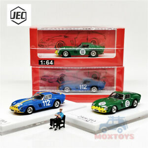 JEC 1//64 Ferrari 250GTO Resin Car Model With Figure Limited #112 Collection