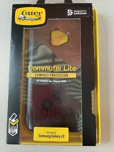 OtterBox Commuter Lite Series Case Cover for Samsung Galaxy J2 Only Black New