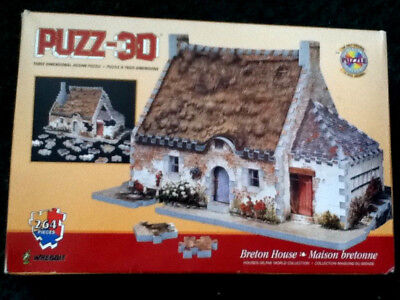 ** Puzz 3d Breton House 264 Pezzi **-mostra Il Titolo Originale