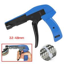 Us Adjustable Nylon Cable Zip Ties Cut Off Gun Comfy Grip Tension Fastening Tool