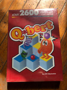 Qbert-Atari-2600-1983-Brand-new-in-the-box