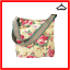 Cath-Kidston-Cross-Body-Messenger-Tote-Bag-Fabric-Cotton-Large-Beige-Floral-Y8 thumbnail 1