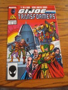 000-VTG-G-I-Joe-and-the-Transformers-Comic-Book-4-April-1987-Marvel-Nice-Cond