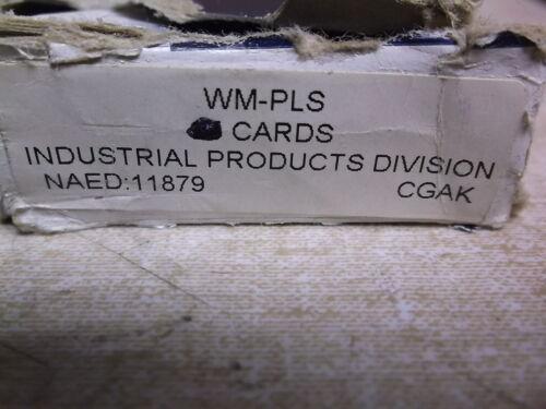 NEW Brady WM-PLS 1 Sheet of Wire Markers *FREE SHIPPING*