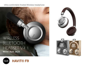 HAVIT F9 Wireless Bluetooth Ultra-comfortable frosted headphone