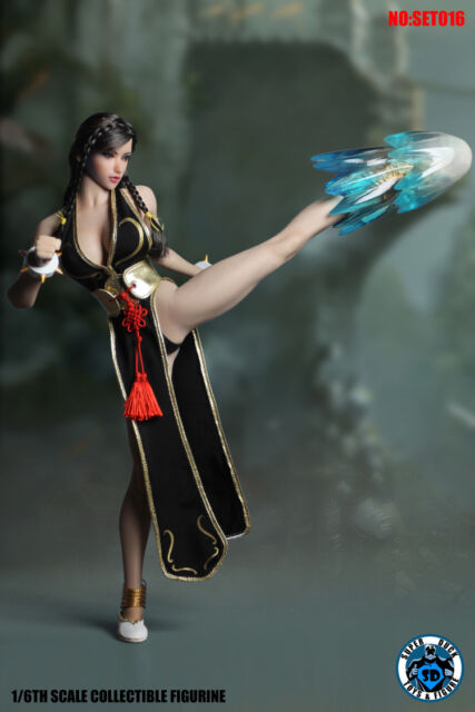 1//6 SUPER DUCK SET016 Martial Art Female Fighter 2.0 Accessory set //w S21B Body