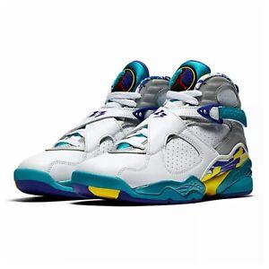 Nike Air Jordan 8 Retro 'White Aqua