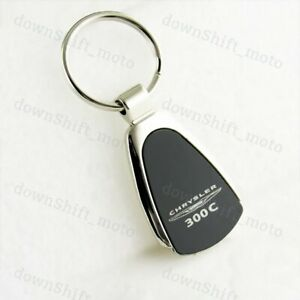 Chevrolet Chrome Tear Drop Key Chain Metal Key Ring Fob Lanyard BRAND NEW